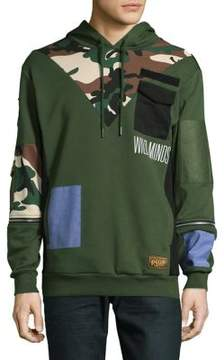 Reason Camouflage Cotton Hoodie
