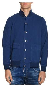 H953 Men's Blue Cotton Jacket.
