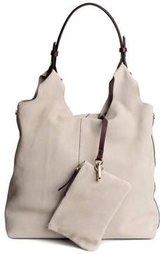 H&M Suede Handbag - Orange