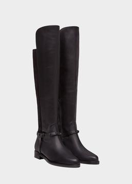 Versace Signature Riding Boots