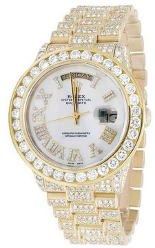 Rolex Day-Date 18038 18K Yellow Gold 38mm Mens Watch