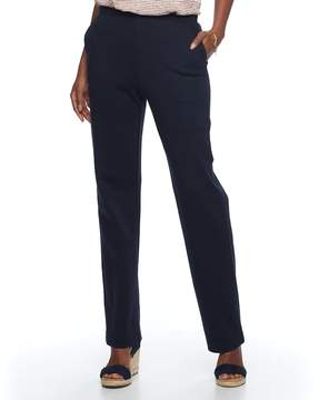 Croft & Barrow Women's Pull-On Knit Lounge Pants