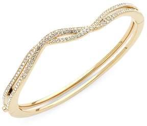 Adriana Orsini Women's Crystal Helix Side Bangle Bracelet