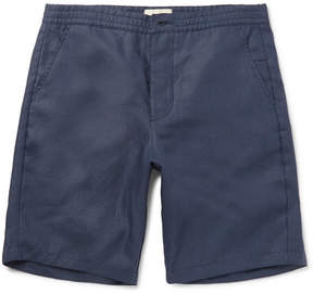 Oliver Spencer Linen Drawstring Shorts