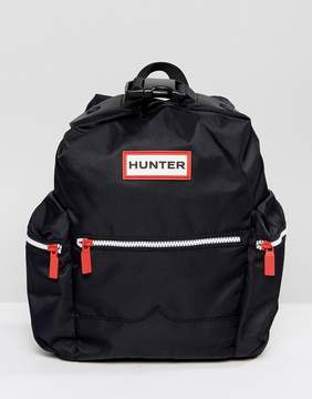 Hunter Original Mini Black Nylon Backpack