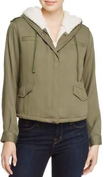 En Creme Zip Jacket