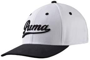 Puma Script Fitted Golf Cap 2017