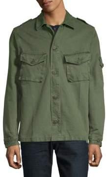 Jean Shop Slim Cotton Jacket