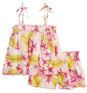 Scotch R'Belle SCOTCH RBELLE Floral Trapeze Top & Shorts Set