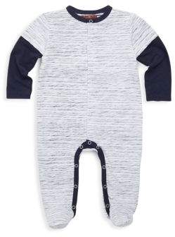 7 For All Mankind Baby's Heathered Footie