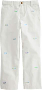 Vineyard Vines Boys Easter Egg Whale Embroidered Breaker Pants