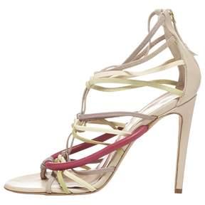 Alessandro Dell'Acqua Multicolour Leather Sandals