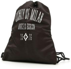 Marcelo Burlon County of Milan Jak Gym Sac Backpack