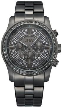 JBW Vanquish Multi-Function Gunmetal-Plated Stainless Steel Diamond Men's Watch