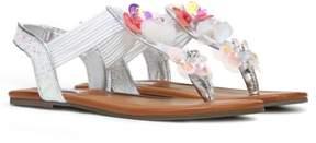 Steve Madden Kids' JBlossom Flower Sandal Pre/Grade School