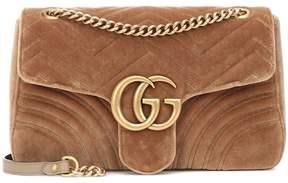 Gucci GG Marmont Medium velvet shoulder bag