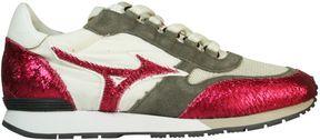 Mizuno White Red Naos Wos Sneakers