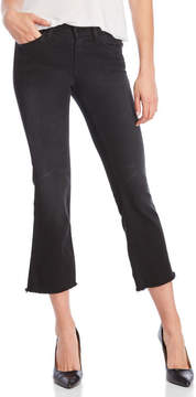 Flying Monkey Cropped Flare Jeans