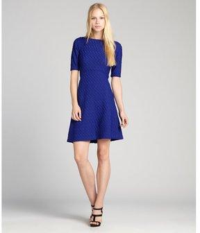 Kate Middleton Blue Knee Length Dress Popsugar Fashion