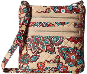 Vera Bradley Iconic Triple Zip Hipster Handbags