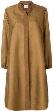 Forte Forte flared A-line coat