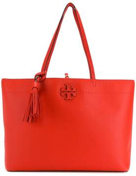 Tory Burch McGraw tote bag - RED - STYLE