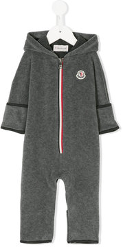 Moncler striped placket jumpsuit