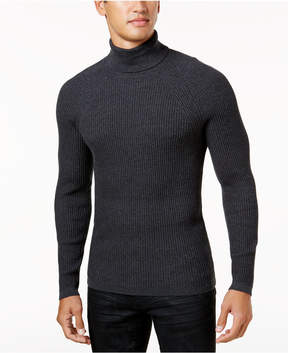 INC International Concepts Men's Ribbed Turtleneck Sweater, Created for Macy's