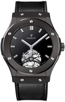 Hublot Classic Fusion Tourbillon Night Out Dial Black Automatic Men's Watch