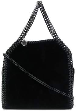 Stella McCartney Falabella velvet shoulder bag