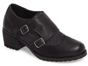 Aetrex Women's Dina Double Monk Strap Ankle Boot