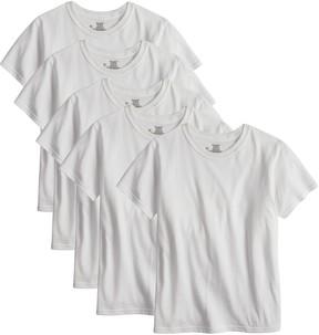 Hanes Boys 4-20 Ultimate Cool Comfort 5-Pack Tees
