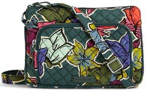 Vera Bradley Iconic RFID Hipster Cross-Body Bag - FALLING FLOWERS - STYLE