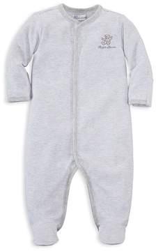 Ralph Lauren Childrenswear Boys' Striped Bear Footie - Baby