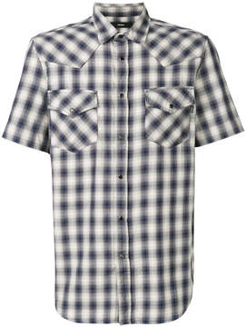 Diesel checked short sleeve shirt