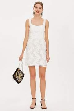 Boutique **jacquard mini dress