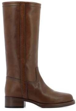 Etro Women's Brown Leather Boots.