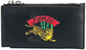Kenzo jumping tiger zipped cardholder