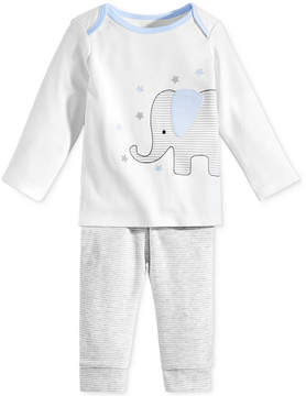 First Impressions 2-Pc. Elephant Top & Pants Set, Baby Boys (0-24 months), Created for Macy's