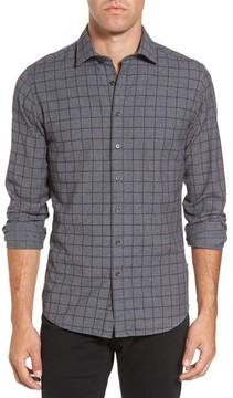 Rodd & Gunn Men's Black Forest Regular Fit Check Sport Shirt