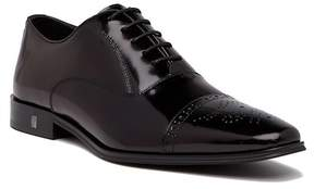Versace Collection Leather Oxford Cap Toe