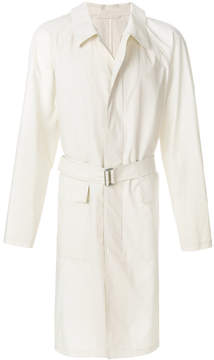 Lemaire flap pockets long coat