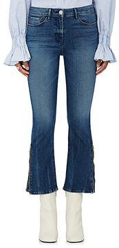 3x1 Women's Midway Gusset Zipper Crop Jeans