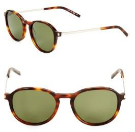 Saint Laurent Tortoise Shell Sunglasses