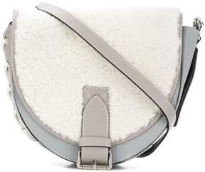 J.W.Anderson shearling crossbody bag