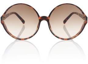 Linda Farrow Oversized round sunglasses