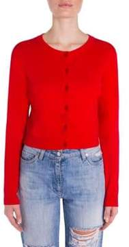 Moschino Tulle Bow Cardigan