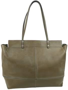 Ghurka Khaki Leather Handbag