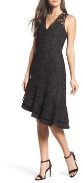 Adelyn Rae Women's Lace Asymmetrical Dress
