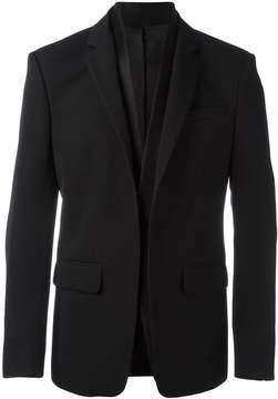 Givenchy layered lapel blazer